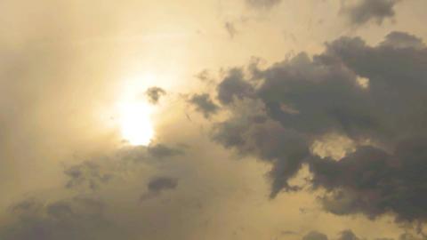Sun Through Clouds Footage