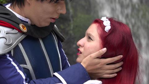 Cosplay Prince Kisses Maiden Live Action
