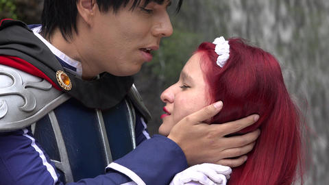 Cosplay Prince Kisses Maiden, Live Action