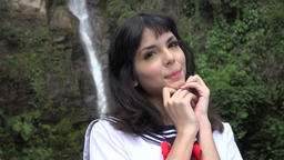 Adorable Young Female Cosplay Live Action