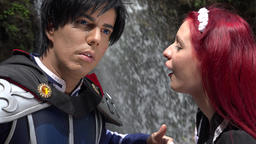 Cosplay Couple In Love Live Action