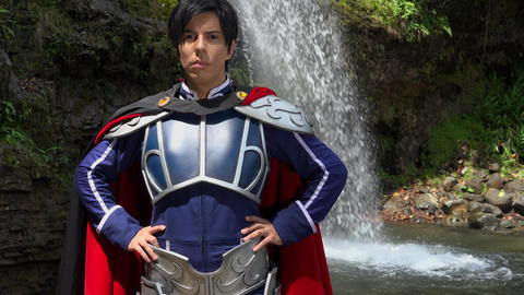Confident Cosplay Male Prince Live Action