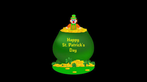Saint Patrick's day Animation