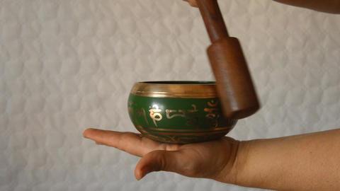 Tibetan Bowl 2 Filmmaterial