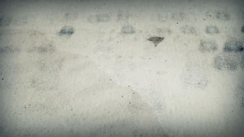 Old texts 010. Page of alchemical manuscript Stock Video Footage