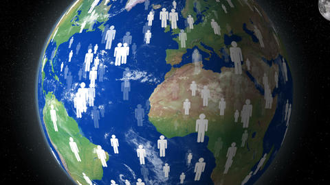 earth human overpopulation distroy planet 4k 11778 Animation