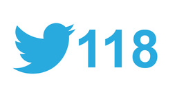 """Twitter social media message button and like, """"tweets"""" retweets number counter ビデオ"""