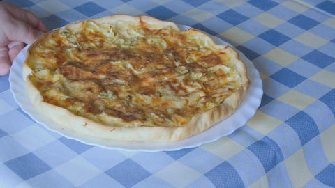 Vegetarian Pie Footage