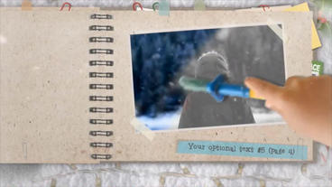 Kids Color the Photo Album After Effects Template