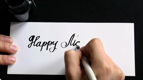 Happy Mother's day calligraphy and lettering post glossy…, Live Action