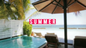 summer-Stylish-Opener After Effects Template