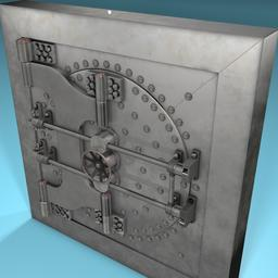 Vault Door 3D Model
