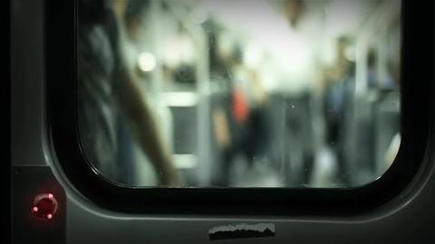 Subway Door Opening Footage