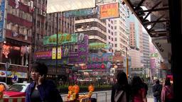 Hong Kong Street Footage