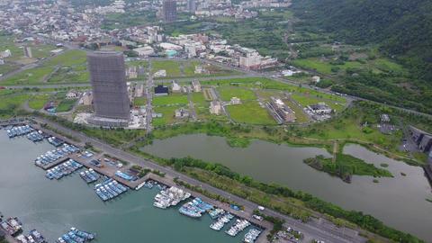 Taiwan Yilan Aerial Drone Video Lanyang Museum Guishan Island 20170513 2 Footage