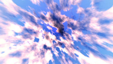Abstract sky blue background Animation