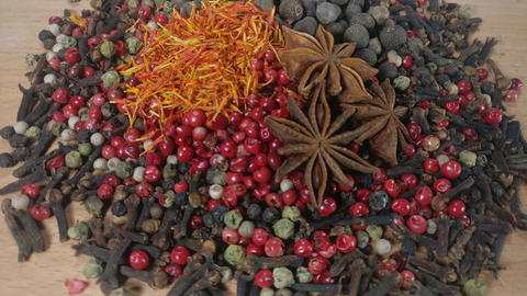 Spices Footage