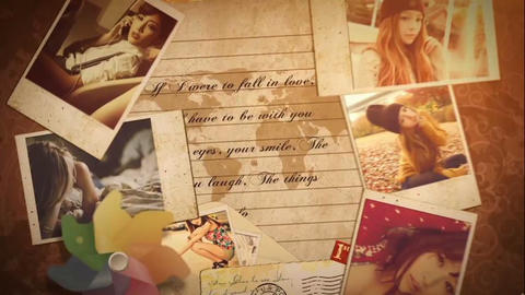 Memory Photos After Effects Template
