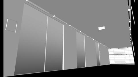 Hyper Modern Futuristic Data Center, 3D models