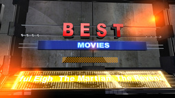 Best Movies, Title, Headline stock footage