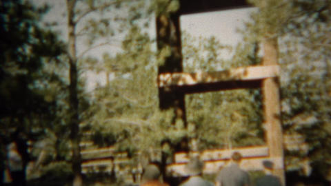 1966: Skyscraper obstacle course wooden climbing tower structure Live Action