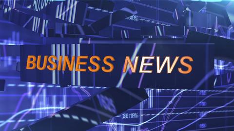 Screensaver for business news Animation