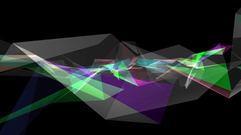 Digital abstract 02 pattern & space Animation