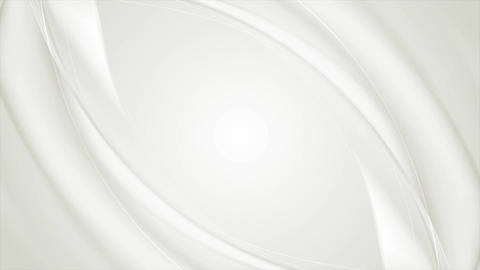 Abstract smooth grey waves video clip design Animation