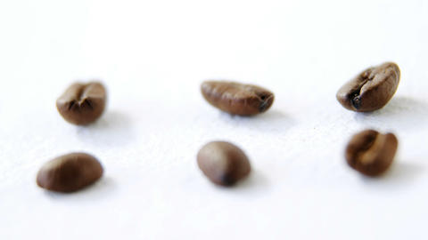 Roasted coffee beans Live Action