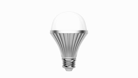 LED light bulb Animation