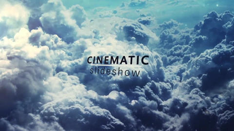Simple Parallax Intro Slideshow After Effects Template