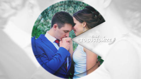Stylish Wedding Opener After Effects Template