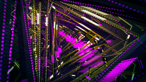 VJ Tunnel Loops Animation CG動画素材