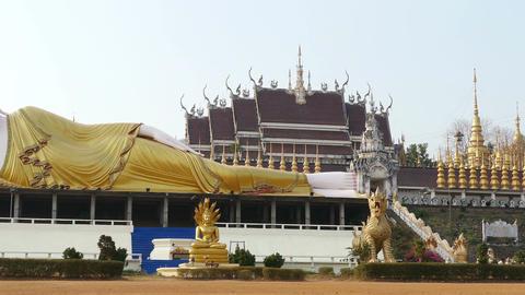 Buddhism Religion Buddha Panorama 4k Live Action
