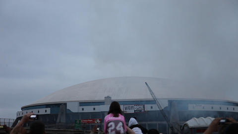 Texas Stadium Implosion Footage