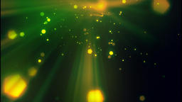 Green particles (1) CG動画素材