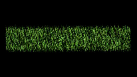 Grass Field Rippling In The Wind Animation Graphic Element Animation