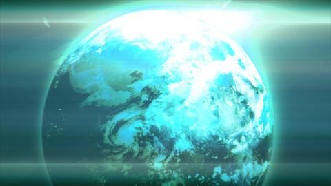 Earth glow 画像