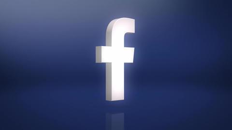 Facebook Icon Motion Background Animation