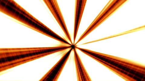 Orange Illuminated 3D Tunnel Motion Background Animation