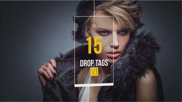 Drop Tags V1 After Effects Template