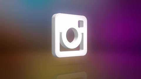 Instagram Icon Motion Background Animation