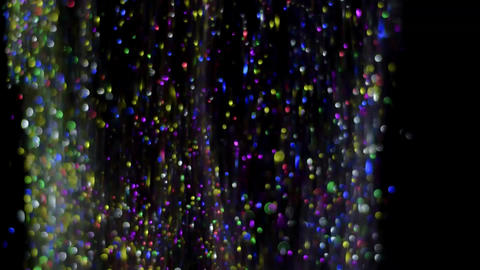 Glitter Falling HD