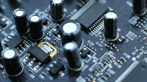 Audio Circuit Boards 6 Footage