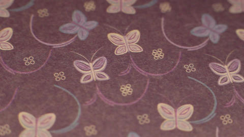 Butterfly Paper Background 2 Footage