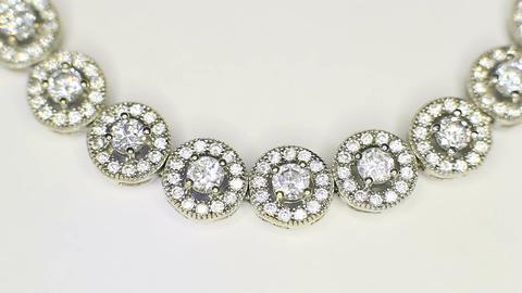 Delicate Silver Bracelet Footage