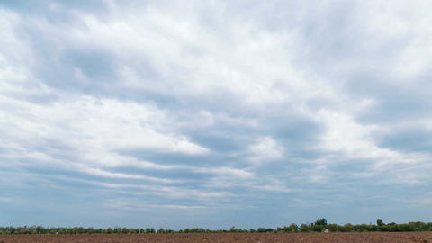 Clouds Rural Time Lapse Background Time Lapse 4k Animation