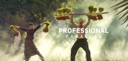 Amazing Parallax Slideshow After Effects Template