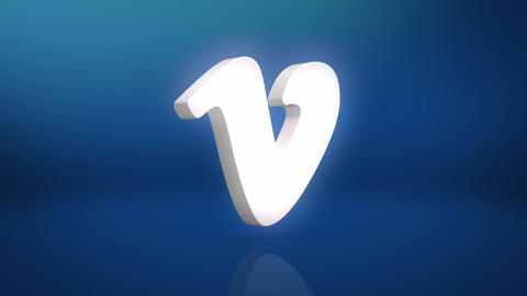 Vimeo Icon Motion Background Animation