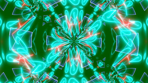 Abstract Color kaleidoscope texture animation Animation